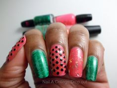 splashduck what's new in nail art collection. Nailed It.: Guest Post from Nail A College Drop Out