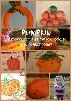 P is for Pumpkin ~ Preschool at Home