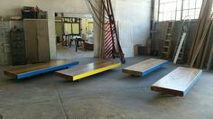 Four of the 'man-who-fell-over-the-coffee-table' tables sent to Facebook Head Office, Johannessberg  #design #furnituredesign #architecture #sculpture #creative #designstudio #designinspiration #furniture #furnituredesign #beautiful #homedecor #woodworking #woodwork #tools #carpentry #handtools #commercialdesign #timber #mildsteel #stainlesssteel #corian #glass #concrete #detail #manufacture #bespoke #contemporary #designporn #intricate #designlovers