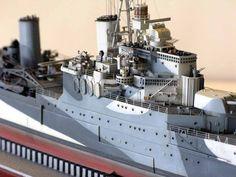HMS Sheffield CA 350 Iron Shipwright (modelshipgallery) 7.30.15 Thu