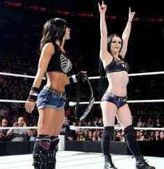 """ WWE SUPERSTAR DIVAS : AJ LEE & PAIGE "" ... WE THEY WORK TOGETHER OR AGAINST ONE ANOTHER ???*** PERSONALY I THINK THEY WILL ..."