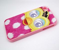 Polka dot furby iPhone case ( I got a furby boom is this polka dot pattern )