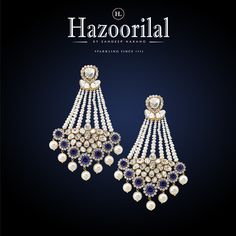 From culture to couture these pair of earrings can do justice to both your traditional or western outfit. @HazoorilalJewellersGk #Hazoorilal by #SandeepNarang