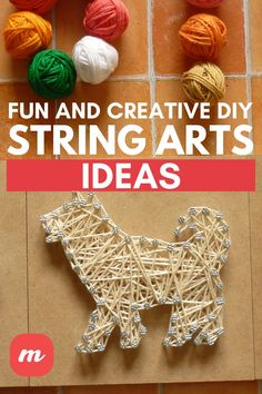 Look no further for a fun DIY craft. In this piece, we show forty-five easy DIY string art ideas. Creative DIY String Art patterns that you see here run from beginner to advanced. Many use templates, which makes the placement of nails easy. Others are complicated and require a bit more than a beginner's outlook. In there you should find projects that are perfect for kids and pieces you'd be proud to hang on your wall. #stringart #DIY #tutorials #crafts #HomeDecorIdeas #Crafts #CraftIdeas Fun Diy Crafts, Crafts For Kids, String Art Patterns, Diy Tutorial, Art Ideas, Easy Diy, Art Pieces, Diy Projects, Tutorials