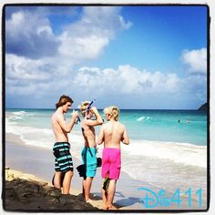 Ross Lynch, Riker Lynch and Rocky Lynch