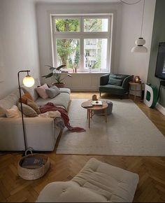 Home Living Room, Living Room Designs, Living Room Decor, Living Spaces, Apartment Interior, Apartment Living, House Rooms, Home Decor Inspiration, Home Interior Design
