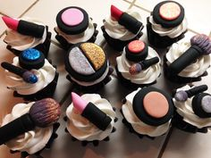Make Up Cupcakes by www.allthatfrost.com