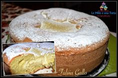 TORTA NUVOLA ALLA CREMA, CON IL BIMBY Per la crema: 1 uovo 500 ml latte 100 g zucchero semolato 60 g farina 00 Per la base: