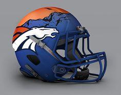 Unofficial alternate NFL helmets