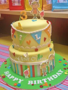 Wooly and Tig Wooly cake Cake Spider cake Cbeebies cake ...