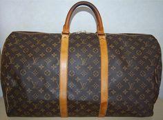 Make an Offer LOUIS VUITTON Keepall 55 Duffel Bag by louise49, $550.00