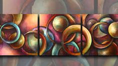 abstract art by Michael Lang