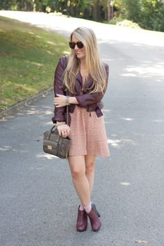 The perfect fall fashions with sleek & straight hair!