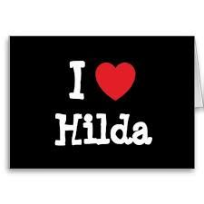 Yes .She is really funny ...Hilda