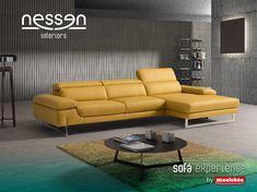 NIENTA.  Este sofá combina descanso, gracias a sus múltiples posiciones y su cómodo diseño, con diversión, ya que incorpora un sistema de audio Sofaudio39x para disfrutar de su música favorita e incluso cargar sus dispositivos móviles.