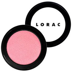 """LORAC Blush.  Once I bought my first Lorac blush- I won't buy any other brand!  This one is """"pink.""""  I'm hooked."""