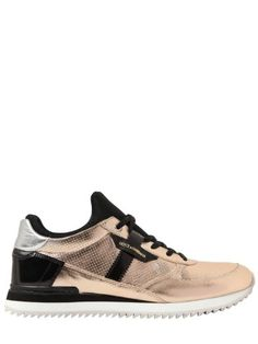 DOLCE & GABBANA - 20MM METALLIC LEATHER SNEAKERS, How would you style these? http://keep.com/dolce-and-gabbana-20mm-metallic-leather-sneakers-luisaviaroma-luxury-shopping-worldwide-shipping-florence-by-chelsea21/k/1GN7ZqABK9/