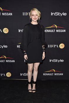 Emma Stone - 2017 TIFF HFPA & InStyle Annual Celebration - Chloé