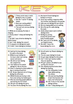 during - while (KEY included) worksheet - Free ESL printable worksheets made by teachers