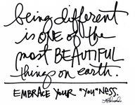 """Embrace your """"you"""" ness"""