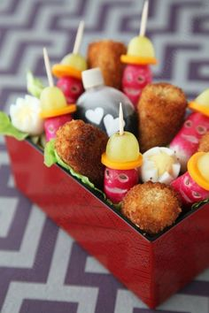 Spicy chicken nuggets for bento beautiful, good and funny