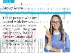 Payday Loans- Manage Your Finance Related Trouble Within Quick Span Of Time!