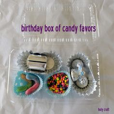 Holy Craft: Candy box party favors