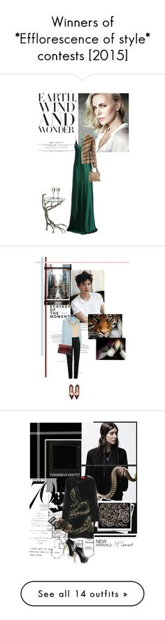 """""""Winners of *Efflorescence of style* contests [2015]"""" by sumilevl ❤ liked on Polyvore"""