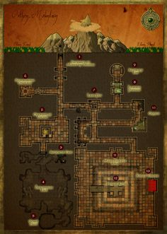 "Mines of Orthon - ""Wrath of the Mountain King"" map"