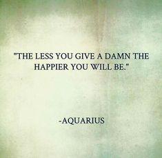 For Aquarius More