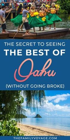 How to see the best of Oahu (without spending an arm and a leg) - Finance tips, saving money, budgeting planner Hawaii Honeymoon, Oahu Hawaii, Hawaii Hikes, Hawaii Hula, Oahu Vacation, Vacation Spots, Italy Vacation, Places To Travel, Travel Destinations