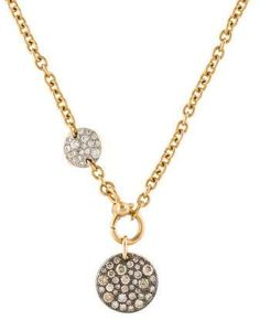 12mm x 13mm with 18 Rolo Chain Million Charms 14k Yellow Gold with White CZ Accented Small//Mini Heart Charm Pendant