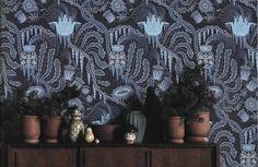 Klaus Haapaniemi wallpaper, Ice Palace wallpaper, floral wallpaper, home decor, home decoration, #klaushaapaniemi #クラウスハーパニエミ Finnish Design,Scandinavian design