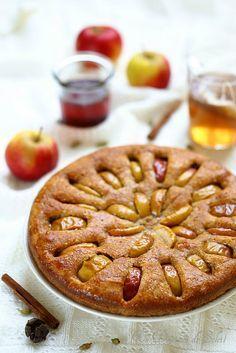 Gâteau moelleux aux pommes et aux épices