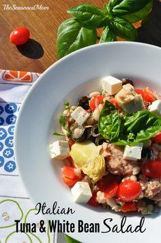 Salad - Fish on Pinterest | Tuna Salad, Tuna and Salmon Salad
