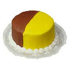 Chocolate Lemon Doberge Cake