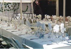 Share your buffet-style tablescapes :  wedding reception decor tablescapes buffet Wedding Table