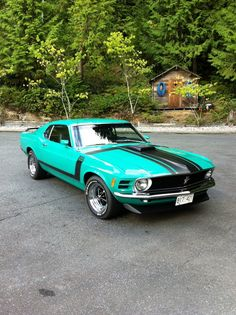 1970 Ford-Mustang Boss 302