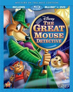 Great Mouse Detective=underrated. Review: http://www.disneytouristblog.com/the-great-mouse-detective-blu-ray-review/