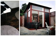 Relaxshacks.com: Shed plans for the MD100 Modern Shed/Guest House from Readymade Magazine