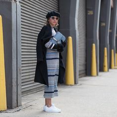 @roressclothes closet ideas #women fashion outfit #clothing style apparel Striped Dress