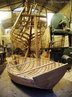Wooden Boat Building, Restoration & Design. Butlers & Co. Dartmouth, Devon
