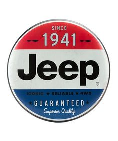 Jeep Metal Button Wall Sign | Best Price and Reviews | Zulily Metal Buttons, Wall Signs, Jeep, Wall Hangings, Garage, Wall Plaques, Carport Garage, Jeeps, Garages
