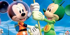 You will live unforgettable space adventure with Mickey Mouse. You will see missions during the game. You should complete all of them to be successful. Have Fun!