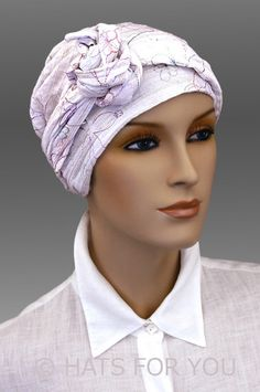 $34.50 - Embroid Calypso Headscarf - #cancer #chemo #hair loss