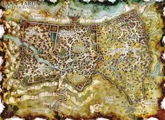 DnD Map: The City of Bridges by ~Stormcrow135 on deviantART