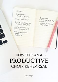 Like most church choirs, you probably have a mid-week rehearsal. This is a great time to prepare music for Sunday and the next few weeks. Please do not spend an entire rehearsal on Sunday's anthem! Plan your time carefully, use it wisely in rehearsal, and Music Lesson Plans, Music Lessons, Middle School Choir, High School, Music Classroom, Classroom Ideas, Music Teachers, Music Ministry, Ministry Leadership