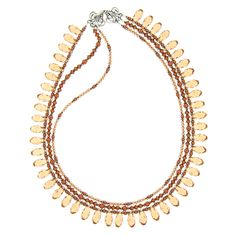 #inspirationinbloom Hail to the Queen Necklace | Fusion Beads Inspiration Gallery