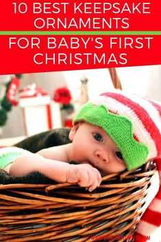 Looking for a keepsake ornament for baby's first Christmas? Check out these top 10 beautiful keepsake ornaments perfect for remembering your baby's first Christmas and holiday season! Baby First Christmas Ornament, Babies First Christmas, Family Christmas, Christmas Gifts, Xmas, Kids And Parenting, Parenting Hacks, All Family, Family Life