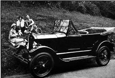 1926 Ford Model T Touring Factory Photo c1874-T2HNND